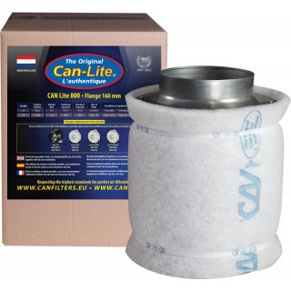 Can Lite Filter 800m³/h Ø160mm