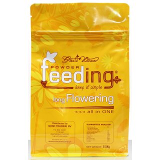 Green House Powder Feeding Long Flowering 2,5kg-test