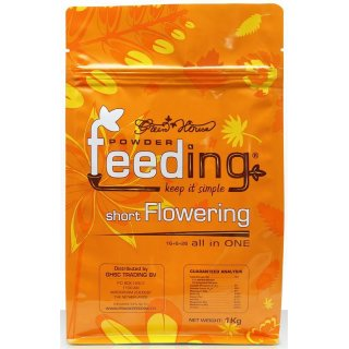 Green House Powder Feeding Short Flowering-test