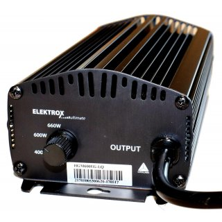 Elektrox Ultimate 600-250 Watt 4 Stufen dimmbar